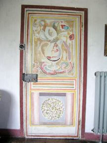 Door to Duncan Grant's Room painted by Vanessa Bell