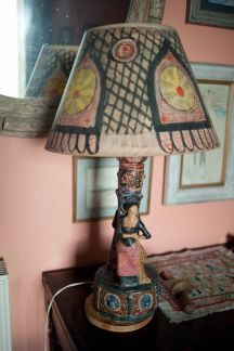 Lamp from Charleston House