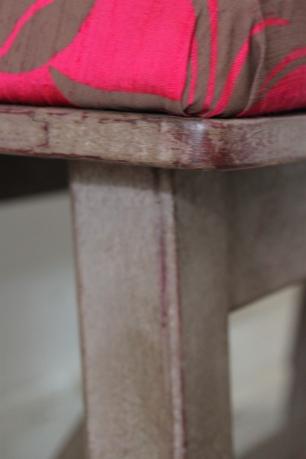 Magenta Bench Detail 2