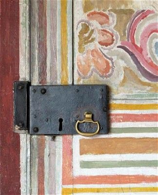 Painted Door by Vanessa Bell